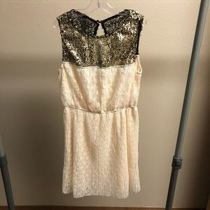 Mimi Chica Lace Dress with Sequins
